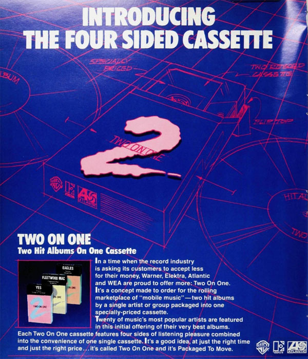 Two on One Cassette