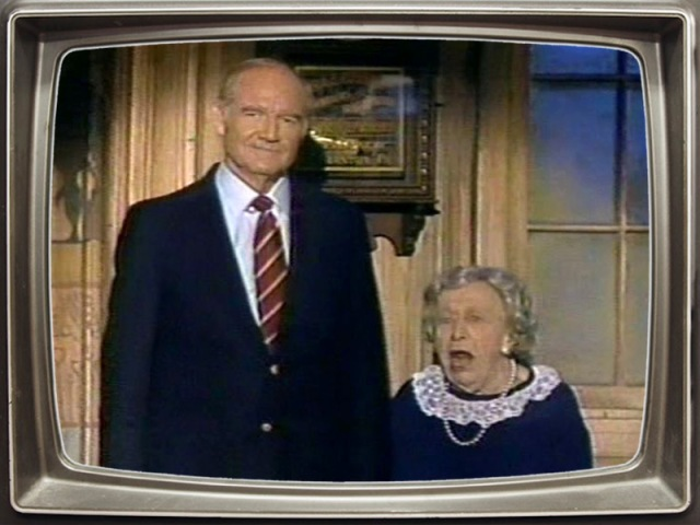 George McGovern and Clara Peller introduce Madness