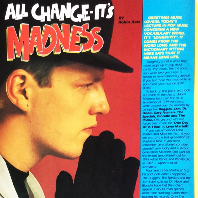 Pop83 All Change - It's Madness