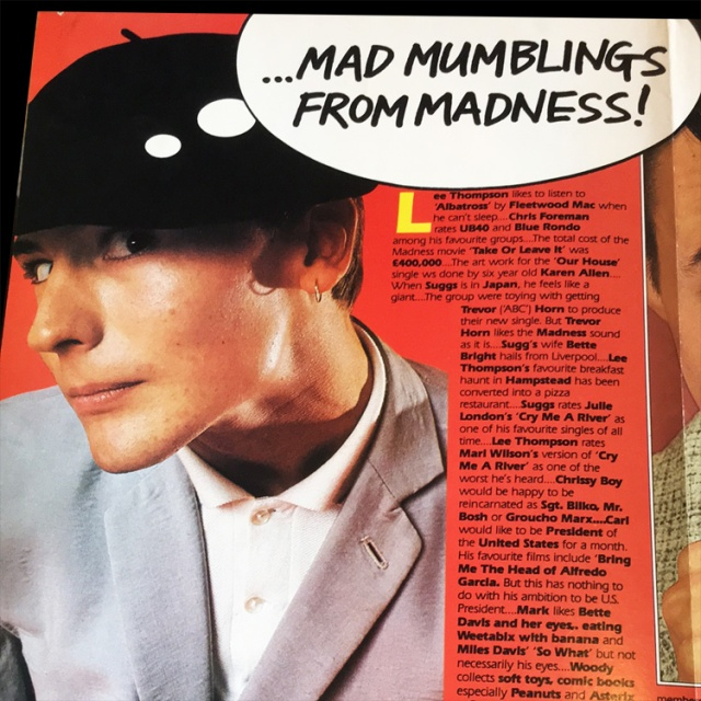 Pop83 Mad Mumblings from Madness